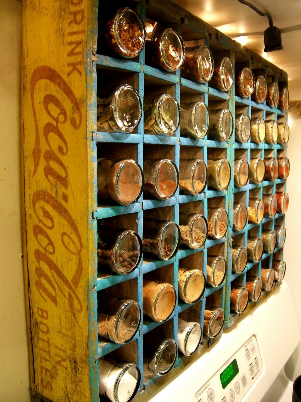 Coke Bottle Spice Rack from Nine Red