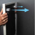 How to hang with d-ring hardware with a youhangit step 5 - level