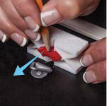 How to hang with d-ring hardware with a youhangit step 4 - remove