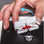 How to hang with d-ring hardware with a youhangit step 7 - remove