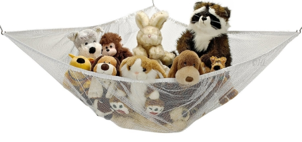 Grab this stuffed animal hammock for under $8 on Amazon!
