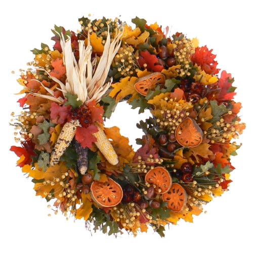Horn o' plenty wreath from your seasonal daymares