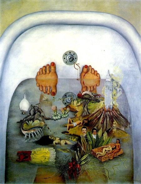 Frida Kahlo,  What the Water Gave Me