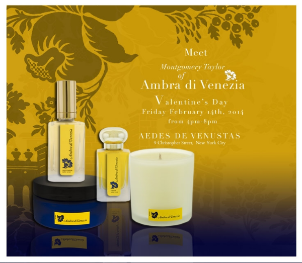"The New York Times awards Ambra di Venezia perfume with 4 stars . ""It is angelic, the scent of comfort and joy"" - Chandler Burr for T-Style Magazine of the New York Times."