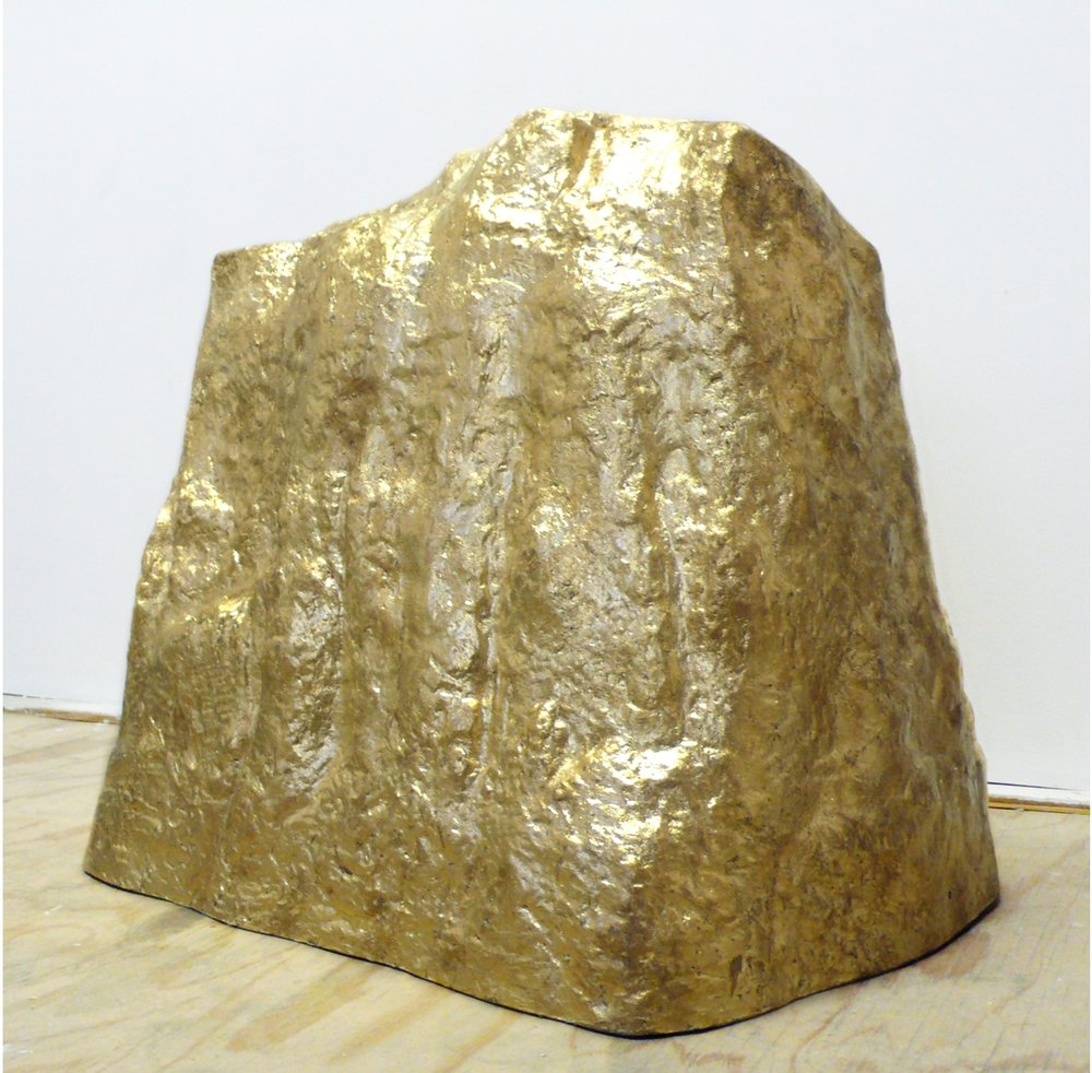 Untitled (Gold Mountain)