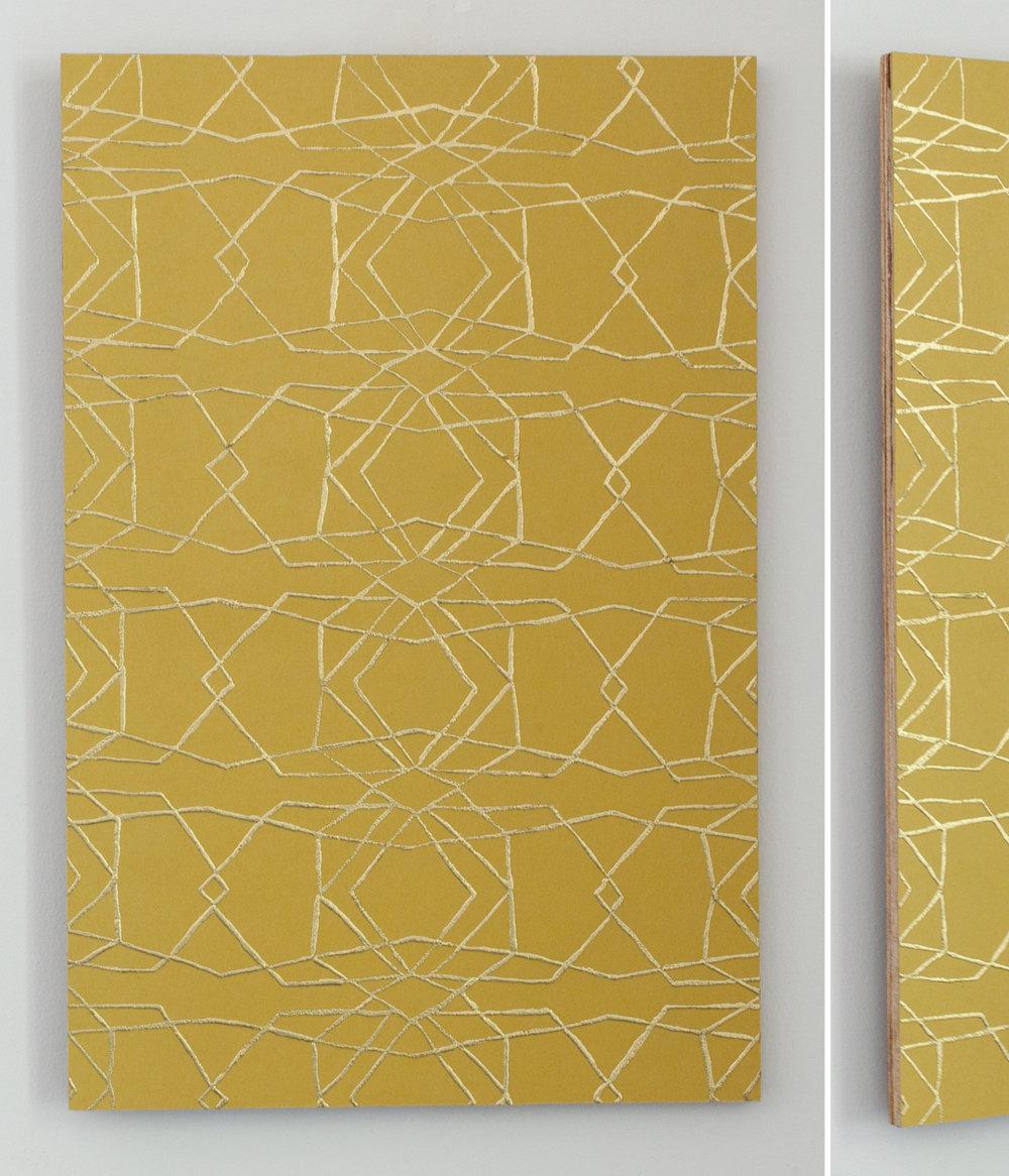 Untitled (Gold Birch)