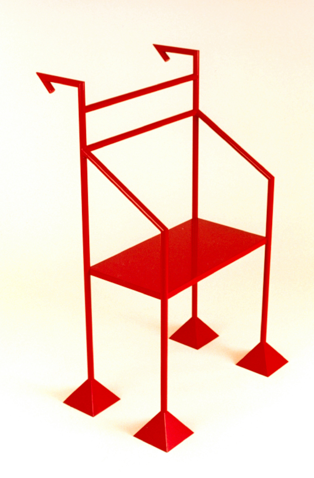 Jochanaan's Chair from   Salome    Designed by Robert Wilson