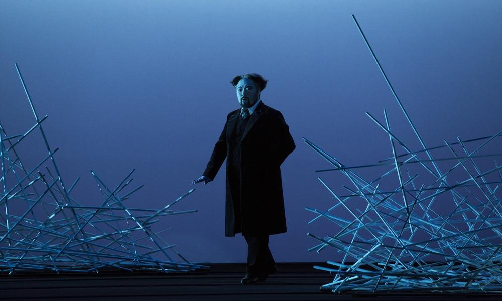 Act 2, Scene 1 - Seho Chang (Giorgio Germont). Linz, 2015
