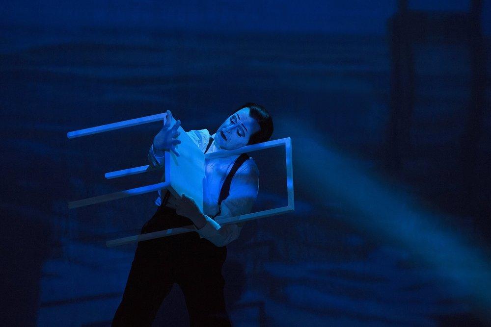 Scene III A - Mikhail Baryshnikov (Spoleto, 2015)