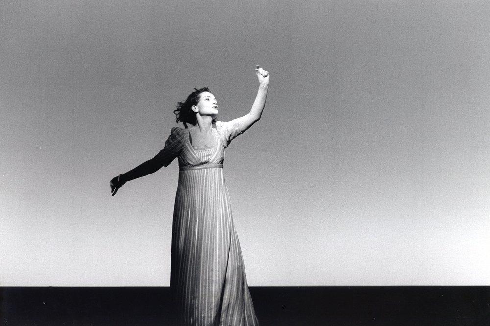 Isabelle Huppert (Orlando) - Théâtre Vidy-Lausanne, 1993