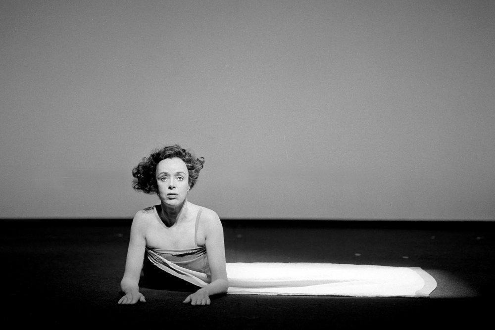Jutta Lampe (Orlando) - Schaubühne am Lehniner Platz Berlin, 1990