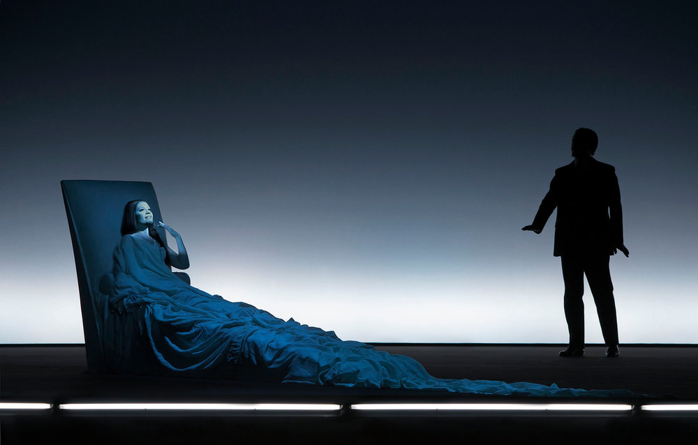 Rebecca Nelsen (Violetta Cast 1), Vladimir Taisaev (Dottore Cast 1)  Photograph © Lucie Jansch