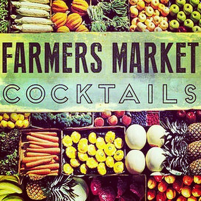 Join us, Tuesday, August 19th for our Farmers Market Cocktails Edition! Get your tickets now: http://ctt-farmers-market.nightout.com #santabarbara #crownthetown #farmersmarket #cocktails