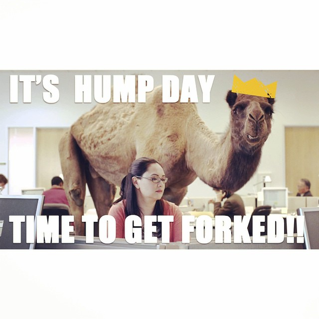 Celebrate #HumpDay right & #getforked! Only 3 more days, forkers! Tickets: http://fork-fest.nightout.com