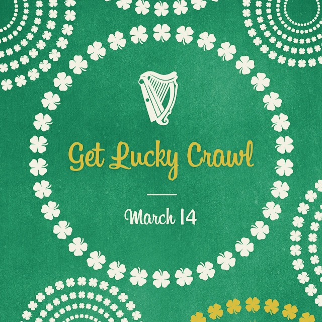 Calling all leprechauns! 🍀🍀🍀 Join us this Saturday as we crawl through 5 Santa Barbara bars hoping to get lucky! Tickets: getlucky.nightout.com