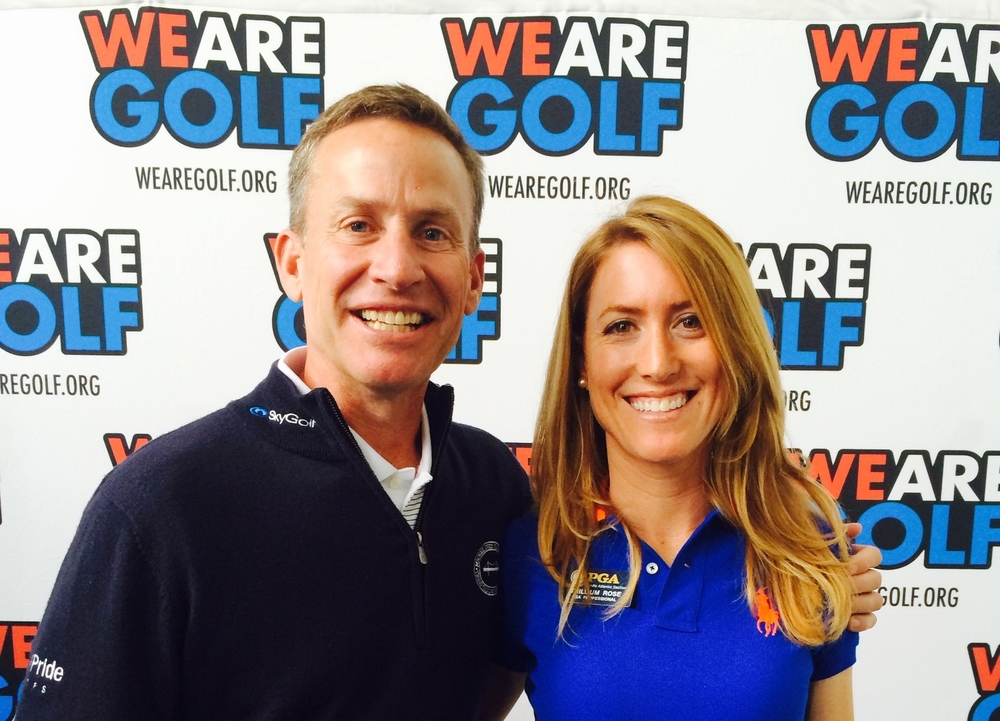With friend and mentor, Michael Breed