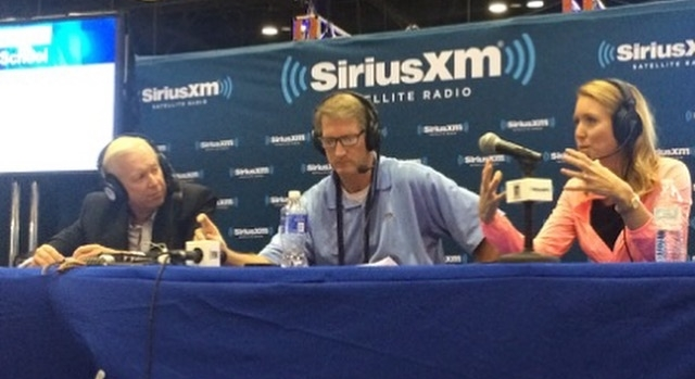 Guest on the SiriusXM show with Jim McLean and Jeff Warne
