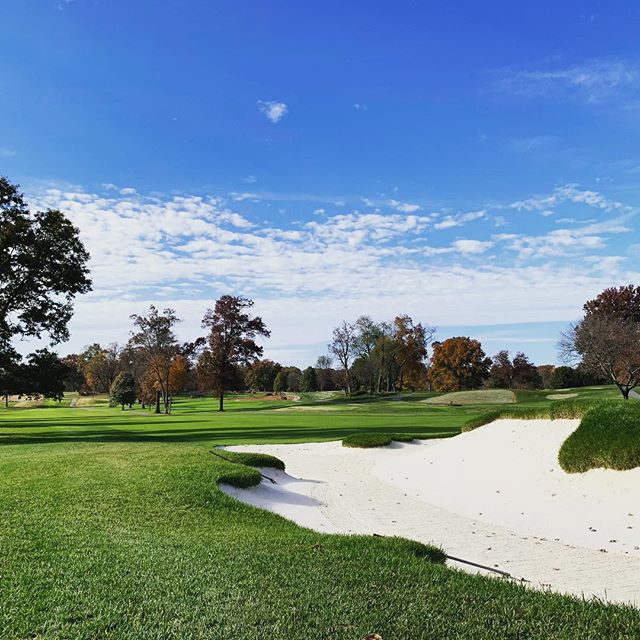 Who else dreams of days like this on a golf course? (And no answers from you Southern California because every day is like this!)