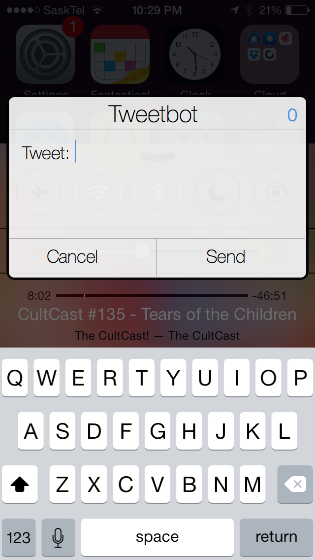 Tweeting with Tweetbot.