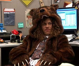 Looking Straight Grizzly (From the show Workaholics)