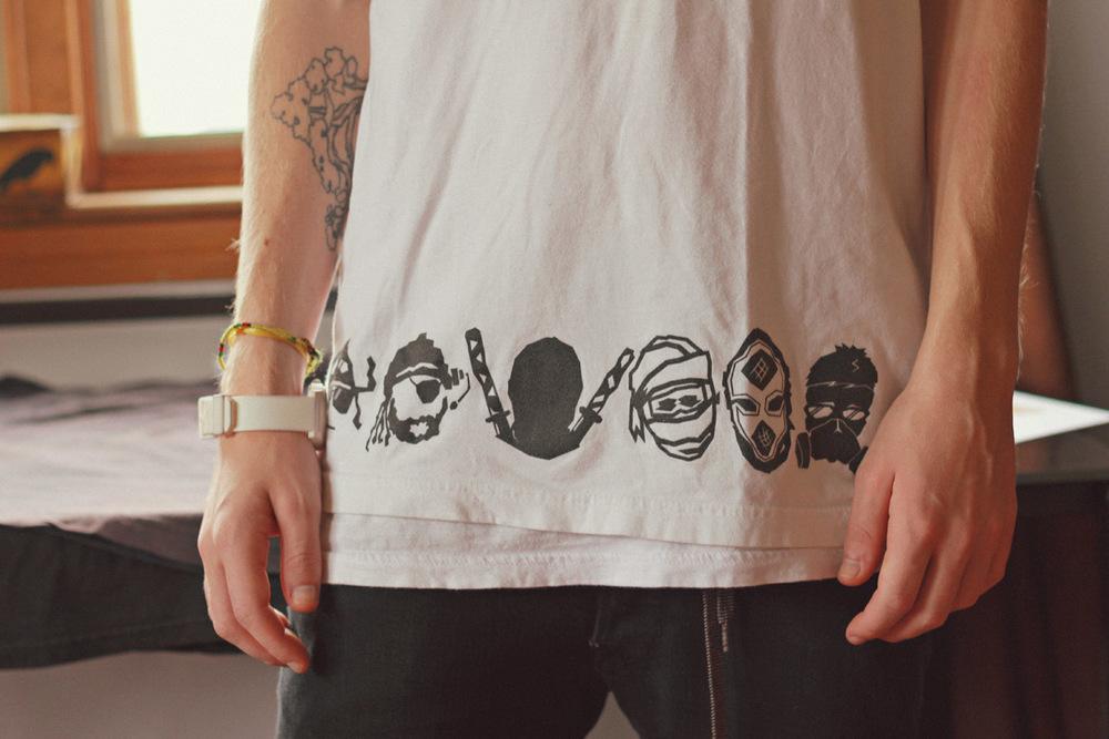 minimal t shirt design