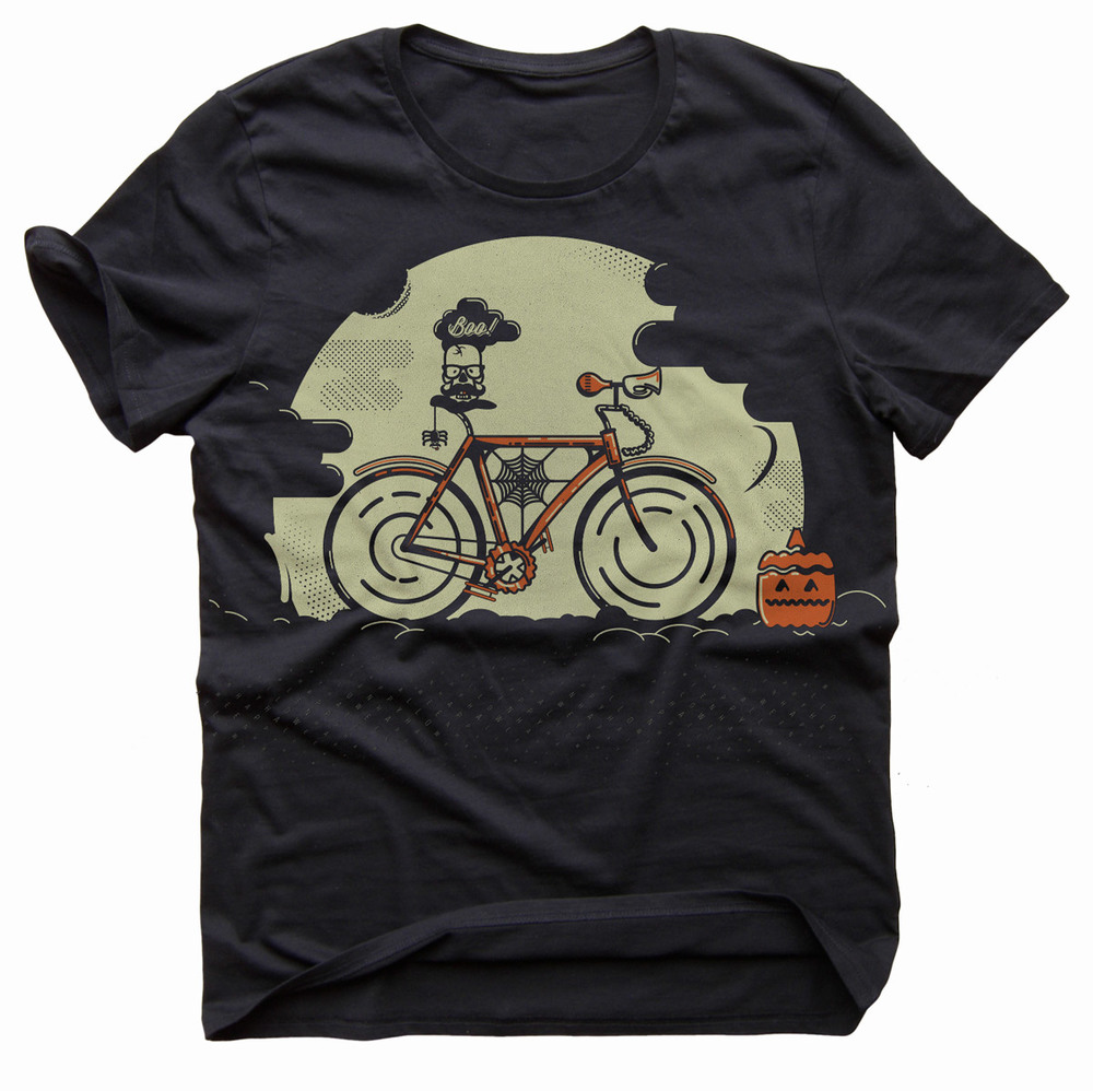 Fixed Gear Hipster T-Shirt Design