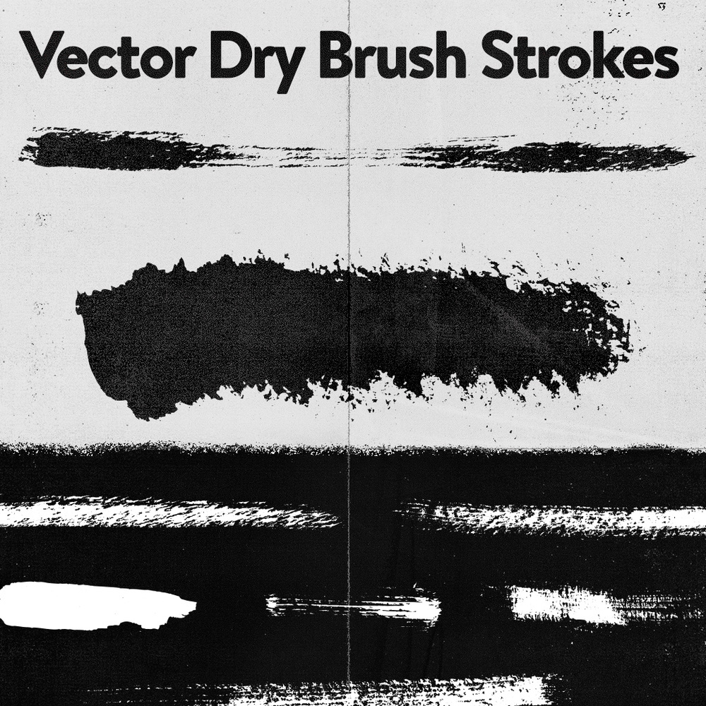 Trzowns Dry Brushes For Illustrator Kirk Wallace Bonehas