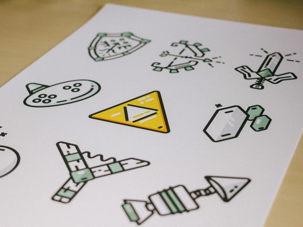 Minimal Zelda Poster