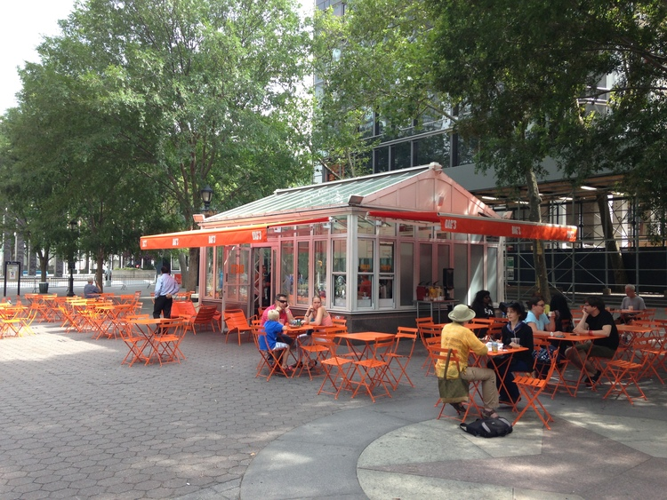 dags cafe dag hammarskjold paza new york - Patio Cafe