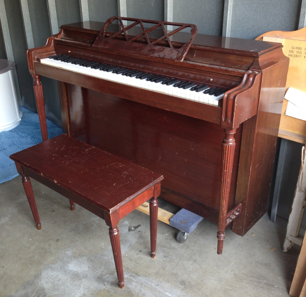 Warehouse Collective Vintage Piano