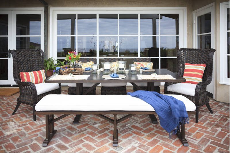 Sources   Patio Furniture: To The Trade, Cushions: Sunbrella, Pillows U0026  Select Part 59