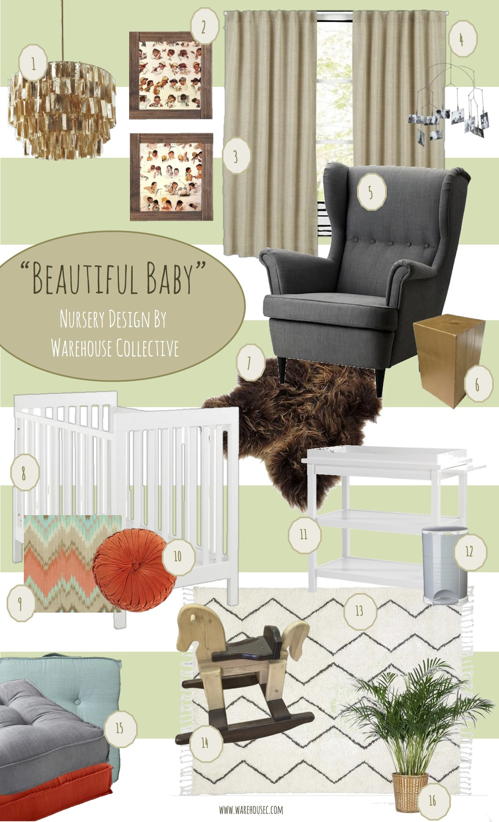 The Inspiration Behind Beautiful Baby Is A Neutral Nursery Utilizing  Vintage Childhood Accents With Ta Panel Dekor.