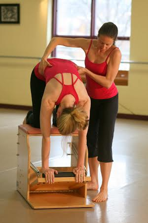 Cat Back on the Low Chair    Scroll down page for our weekly classes.