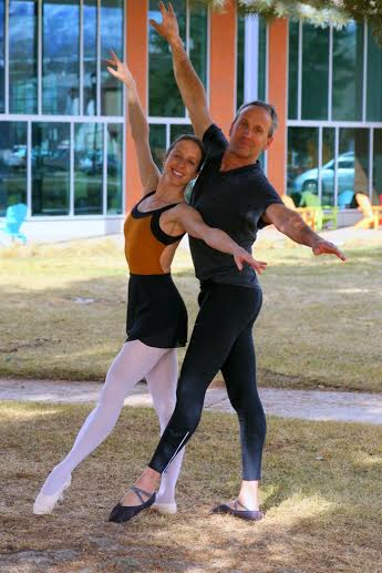 Alexandra and Anthony Jerkunica, owners and directors of Coredination, A Movement Studio and Bonedale Ballet
