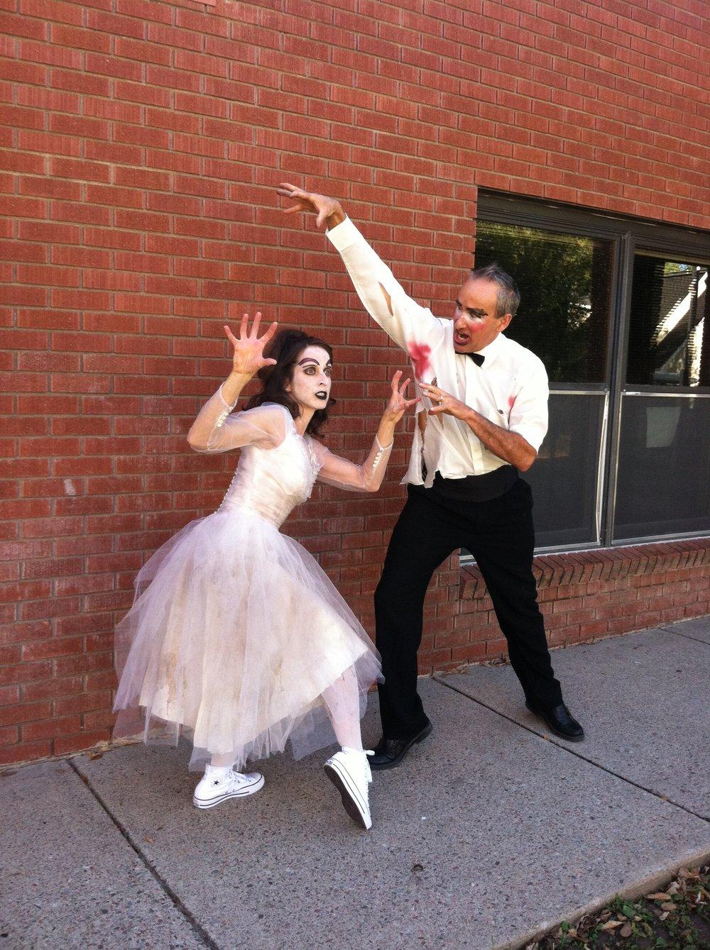 Thrill the World 2015- Alexandra & Anthony Jerkunica of Coredination/ Bonedale Ballet