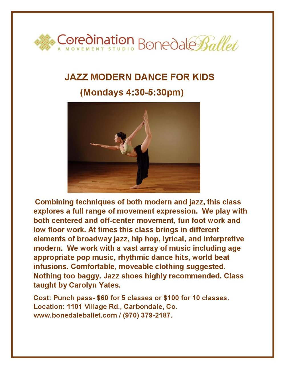 Invitational flyer- JAZZ MODERN DANCE FOR KIDS.docx- Saturday-page-001.jpg
