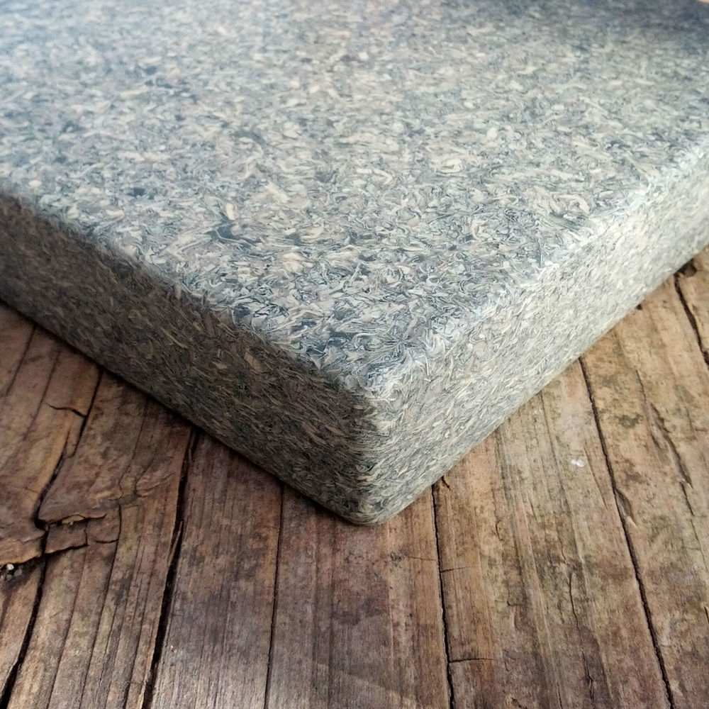 Laminated edge - 3 layers thick