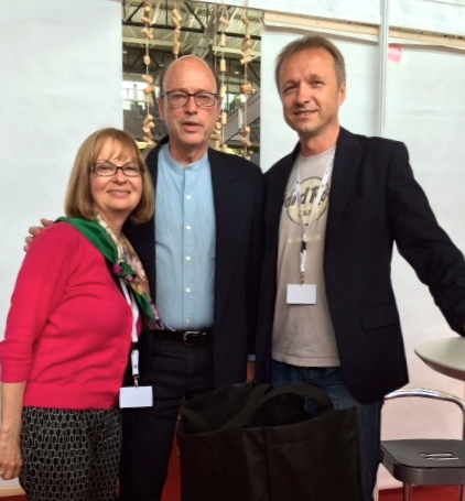 Anne and Mark with Ivica Matošević, winemaker and President of Vinistra