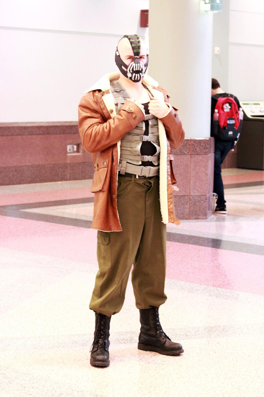 CLAYTON | as Bane