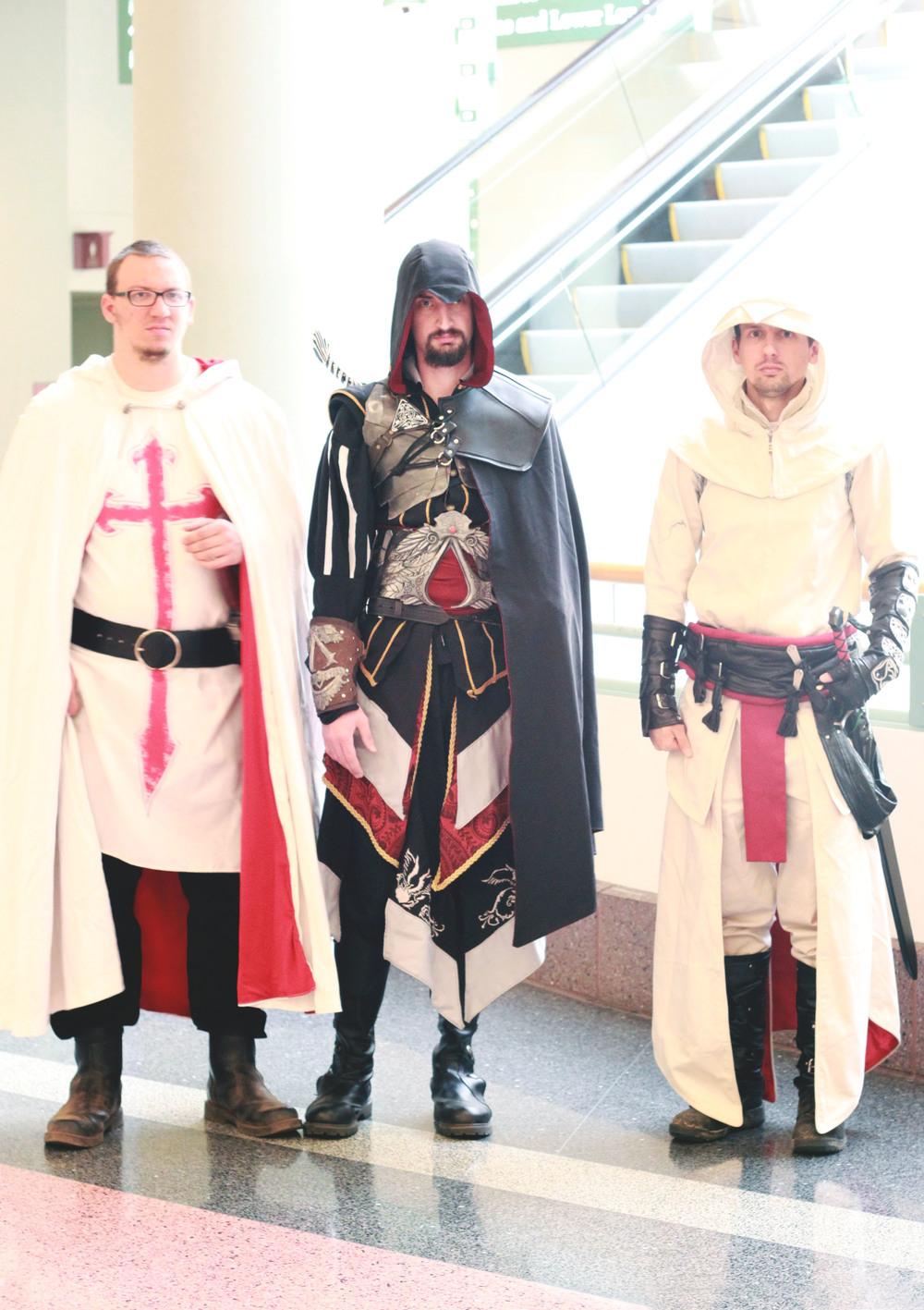TOM + DEREK + DAVE | as The Knights Templar