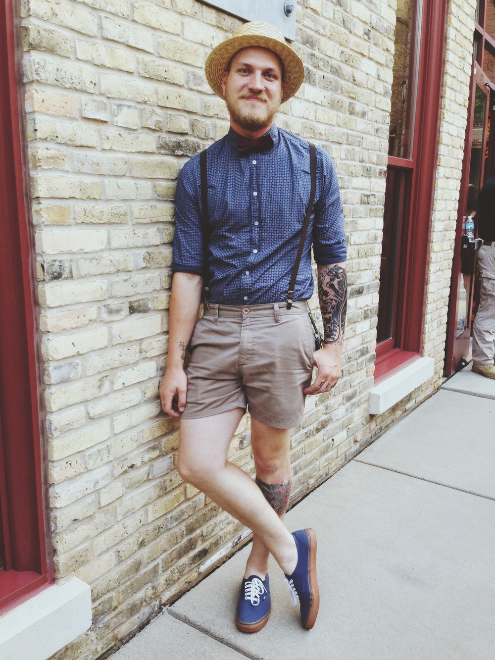 NICHOLAS | spotted at Shinola North Loop