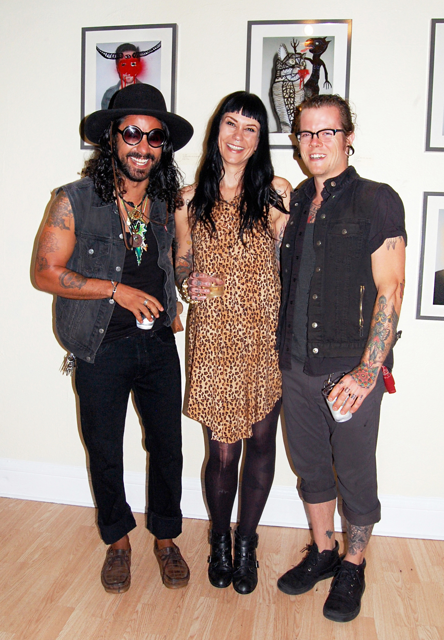 RAMSES, CONNIE + JESSE | spotted at Gamut Gallery
