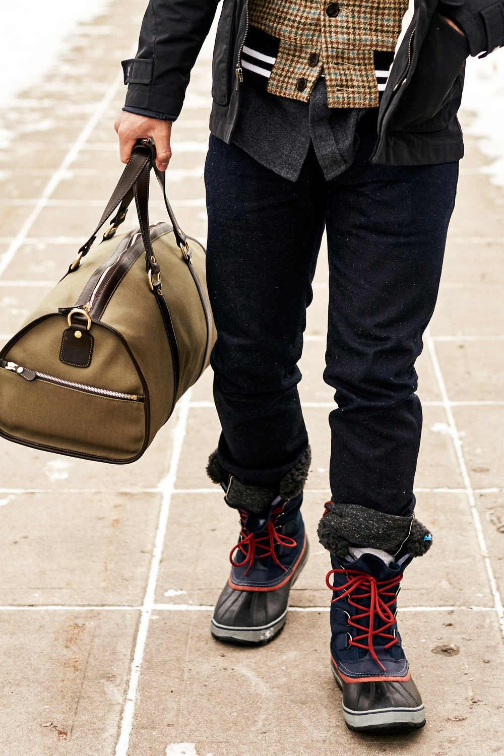 """Norwalk Explorer"" Bag by Ghurka 