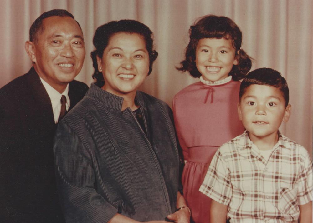 Izzy, Helen, Karen and Genji Otani
