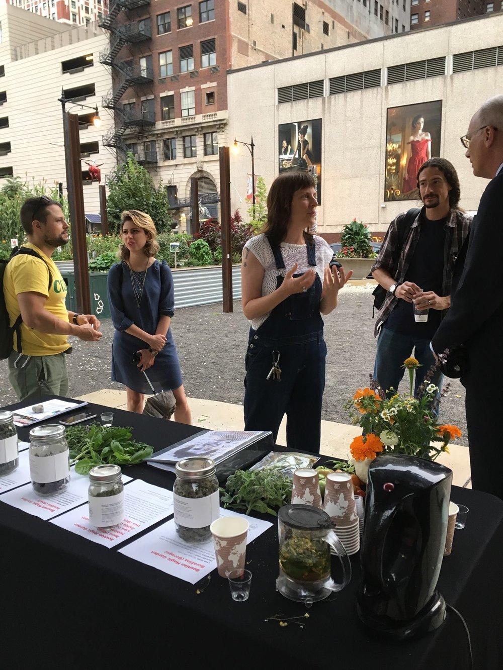 Bosnian Magic Garden Tea Event