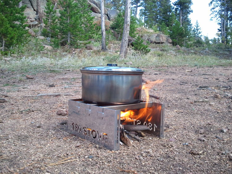 180 STOVE Using Sticks - 180 Tack - Backpacking, Camping, Wood Fuel Stoves And Other