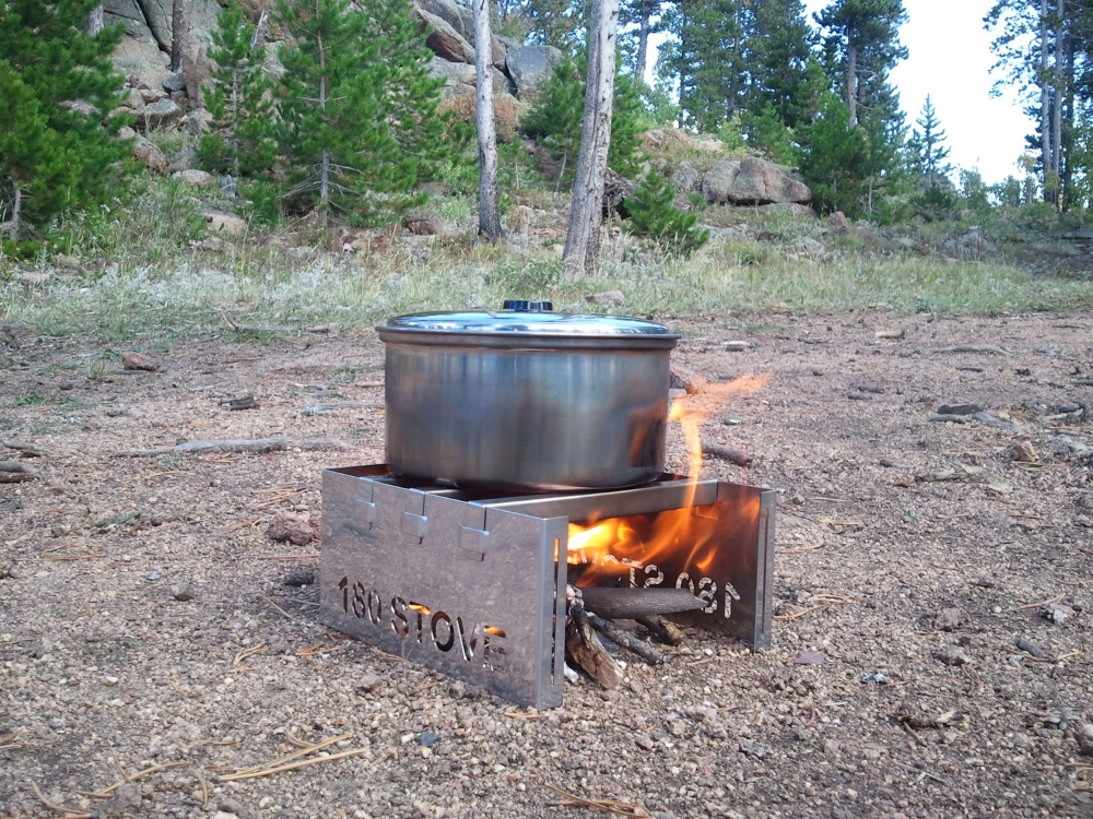 180 STOVE Using Sticks