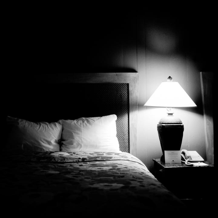 Hotel Room. San Francsico, CA