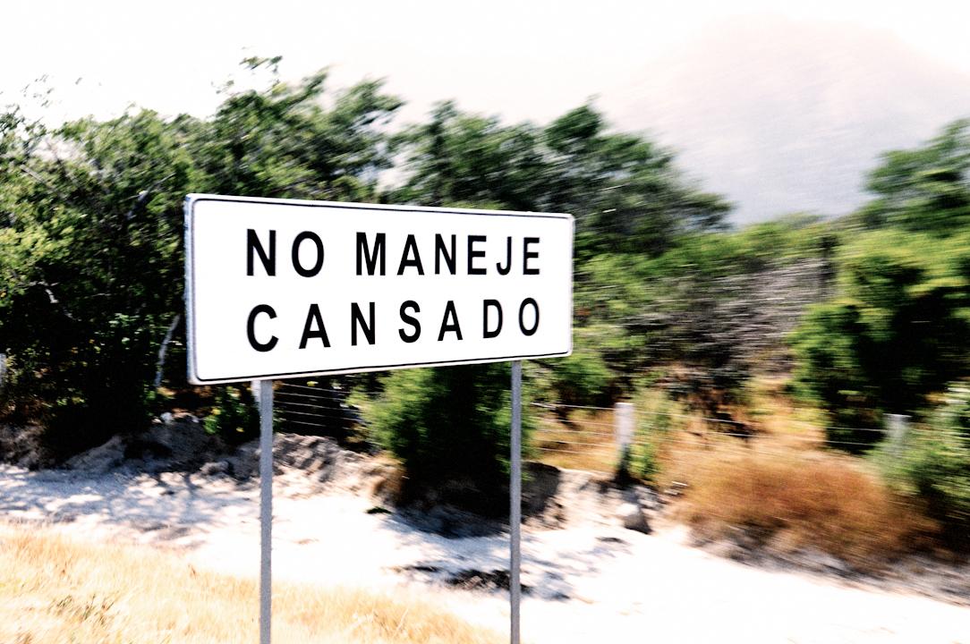 Driving into Cabo San Lucas, MX