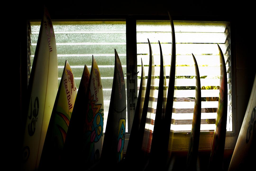 Surfboards. Honolulu